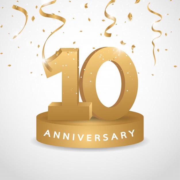 10º Aniversario en 2020